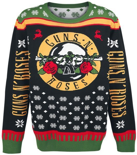 Guns N Roses Christmas Jumper 1 - 530