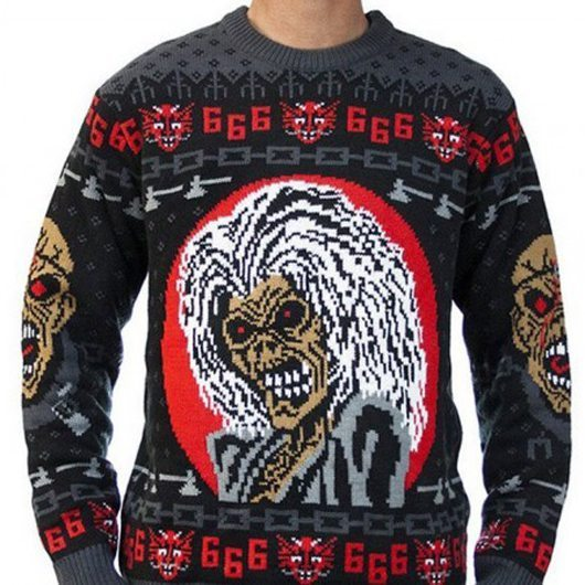 Iron Maiden Christmas Jumper - 530