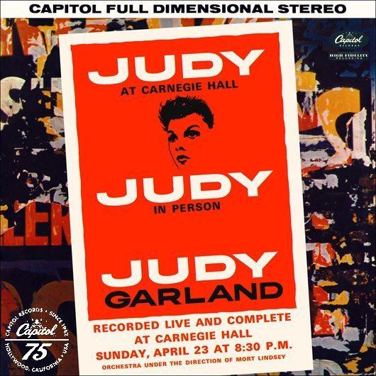 """""""エンターテイメントの歴史で最も素晴らしい夜""""、ジュディ・ガーランド『Judy At Carnegie Hall』"""