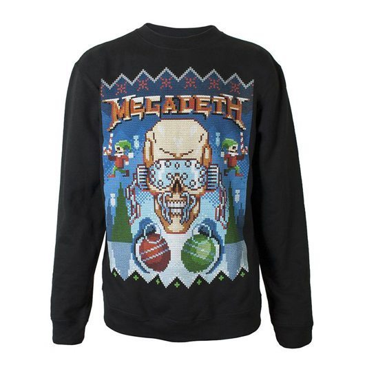 Megadeth Christmas Jumper - 530