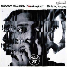 Robert Glasper Black Radio Album Cover With White Logo - 530