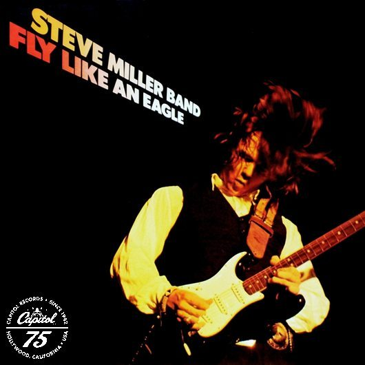 Steve Miller Band Fly Like An Eagle Album Cover With Logo
