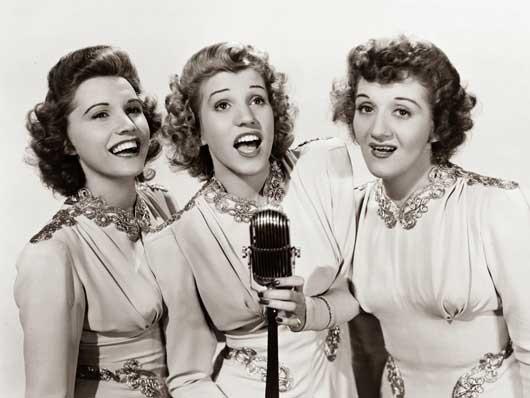 Andrews Sisters Image