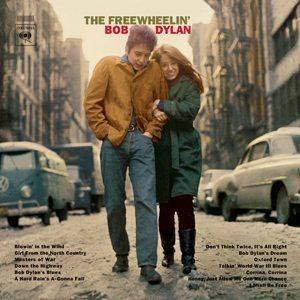 Bob Dylan The Freewheelin' Bob Dylan Album Cover - 300