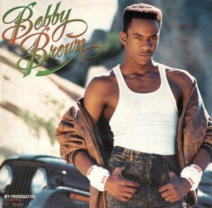 Bobby Brown My Prerogative 12-inch Single Cover - 300