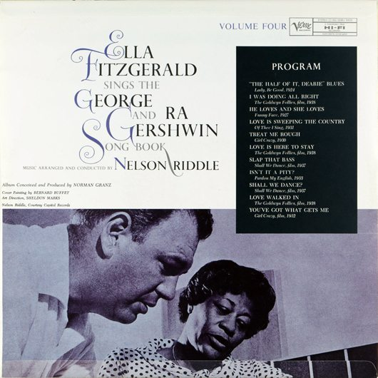 reDiscover:エラ・フィッツジェラルド『Ella Fitzgerald sings The George and Ira Gershwin Song Book』