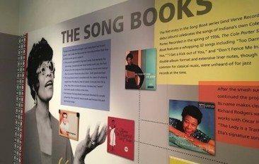 エラ・フィッツジェラルドのソングブックがインディアナで展示中
