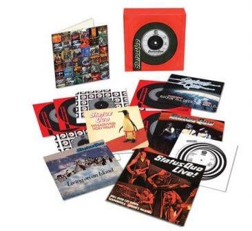 ステイタス・クォー、7インチ・ボックス・セットのリリースが発表