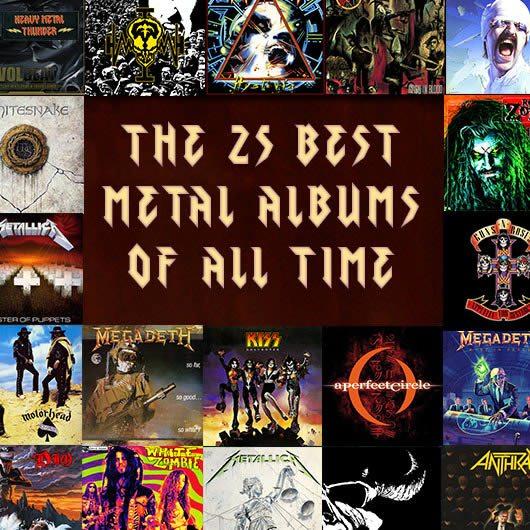 史上最高のメタル・アルバム25枚