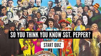 クイズ:あなたは『Sgt.Pepper』を知っていますか?