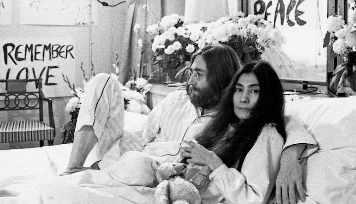 ワンテイクで録音されたジョンとヨーコの「平和を我等に」