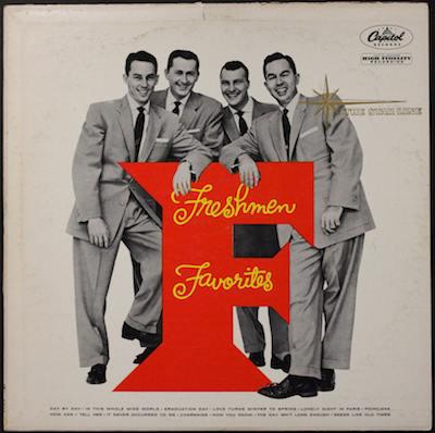 The-Four-Freshmen-Freshmen-Favorites