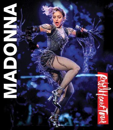 マドンナ最新ツアーの映像商品とライヴ・アルバムが9月に発売決定