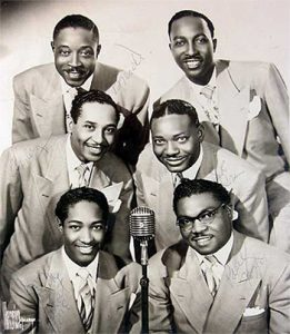 The Soul Stirrers with Sam Cooke, bottom left