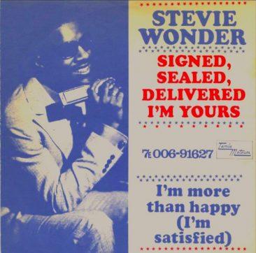 スティーヴィー・ワンダーが初めてプロデューサーとしてクレジットされた「Signed, Sealed, Delivered I'm Yours」と多数のカバー