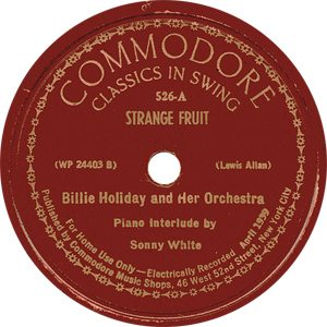Billie-Holiday-Strange-Fruit-Record-Label-300