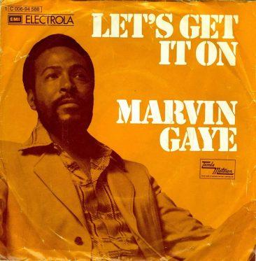 ひときわ官能的なレコードのひとつ、マーヴィン・ゲイの「Let's Get It On」