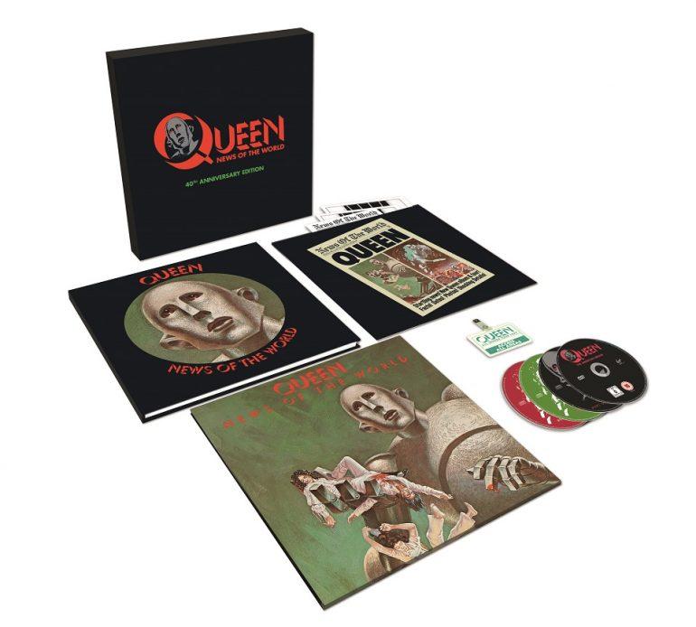 クイーン『世界に捧ぐ』の40周年記念盤が3CD+DVD+LPで発売決定