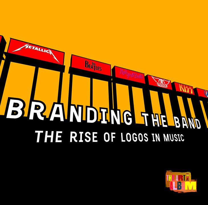 バンドのブランド化:音楽界におけるロゴの意味とその台頭