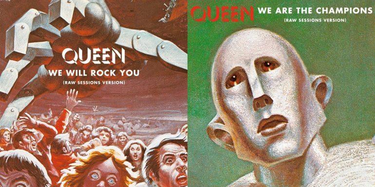 クイーン『News Of The World』40周年記念盤から「We Will Rock You」と「We Are The Champions」の未発表音源が公開