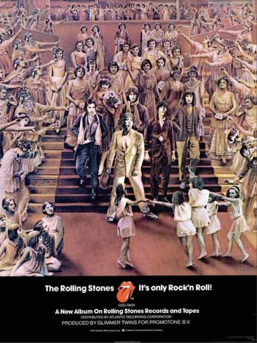 ミックとキースが初めてセルフ・プロデュースしたザ・ローリング・ストーンズの『It's Only Rock 'n' Roll』