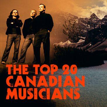 カナダのミュージシャン トップ20