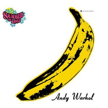 アンディー・ウォーホルとヴェルヴェット・アンダーグラウンド&ニコの『The Velvet Underground & Nico』