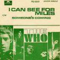ザ・フーの唯一の全米トップ10ヒット「I Can See For Miles」は、大爆破の影響でうまれた