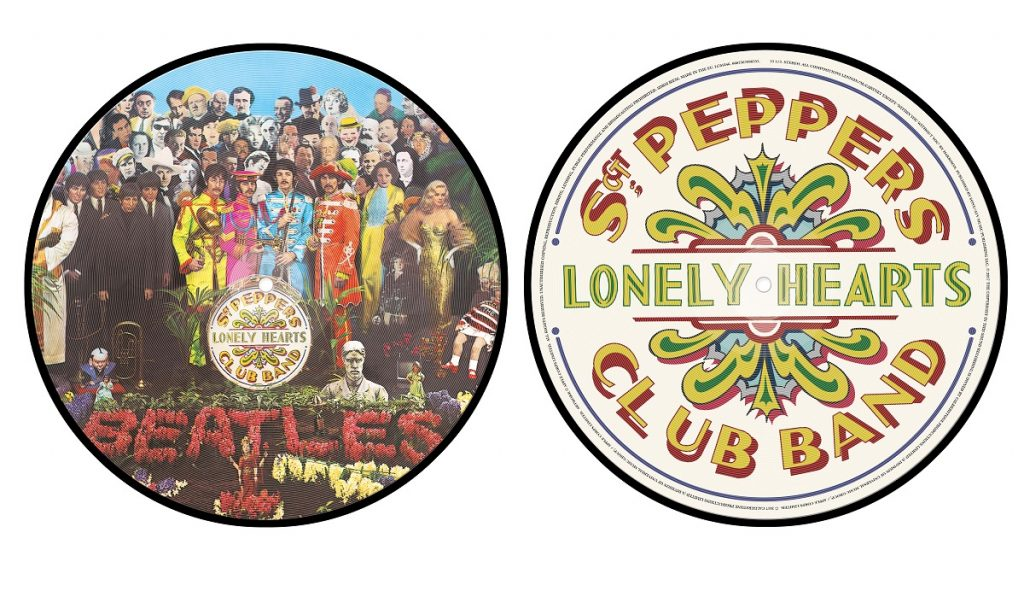 The Beatles Sgt Pepper Picture Disc 3D Product Shot