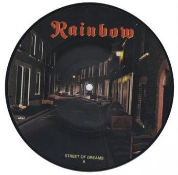 レインボー最後の全米シングルチャート入りをした「Street Of Dreams」