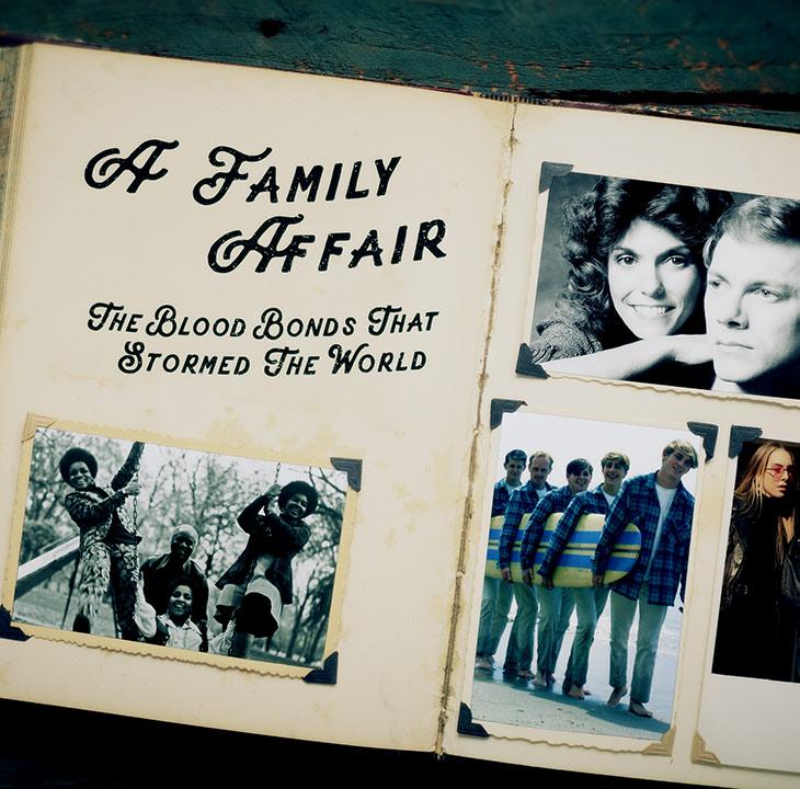 家族や、兄弟の絆で世界を席巻したミュージシャンやバンド達