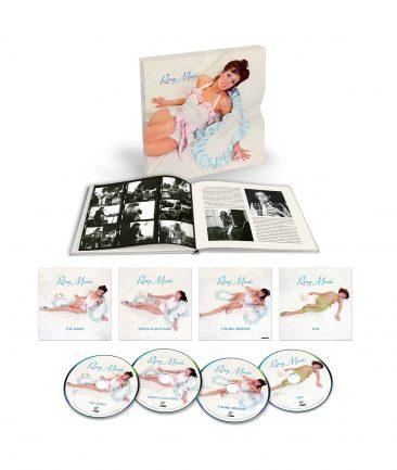 ロキシー・ミュージック、デビュー盤発売45周年を記念して4枚組のスーパー・デラックス・エディション発売