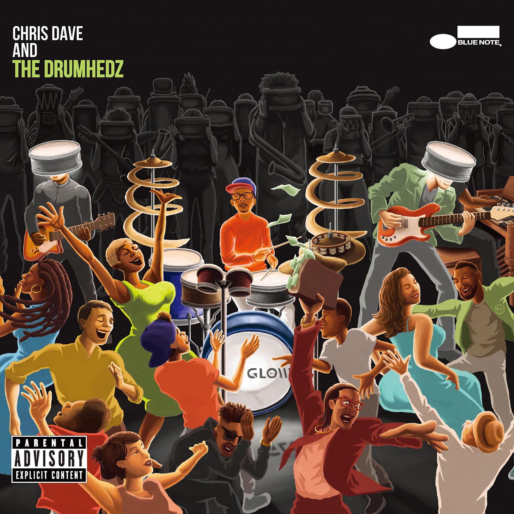 クリス・デイヴ&ザ・ドラムヘッズ『クリス・デイヴ&ザ・ドラムヘッズ』