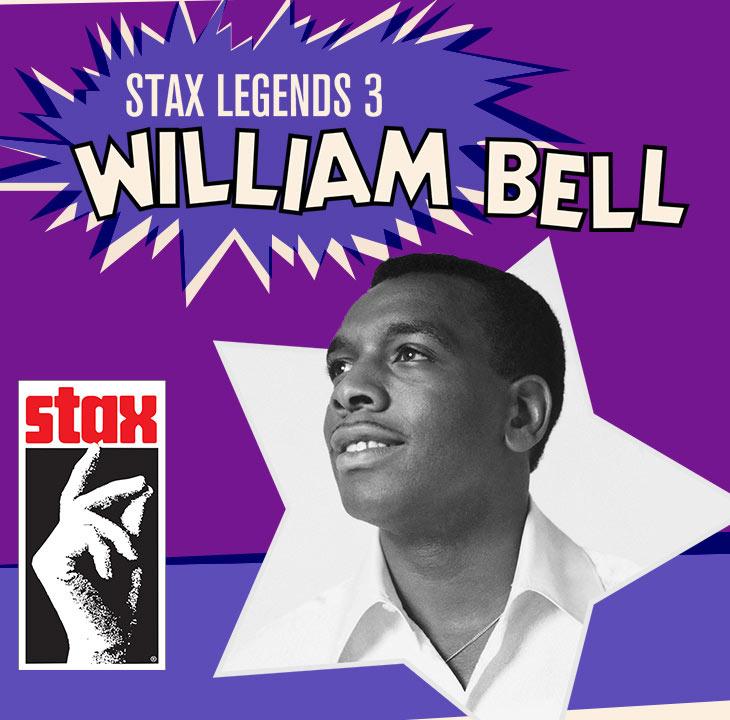 スタックス・レコードのレジェンドたちその3:ウィリアム・ベル