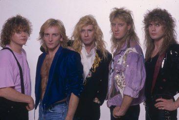 デフ・レパードの全作品がデジタル配信解禁、『Hysteria』の全曲再現ツアーも決定