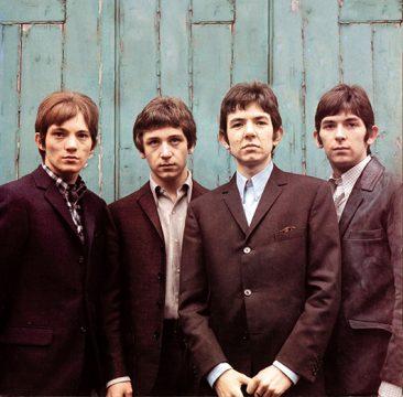 1966年のスモール・フェイセス:(左から)スティーヴ・マリオット、ケニー・ジョーンズ、ロニー・レイン、そしてイアン・マクレガン