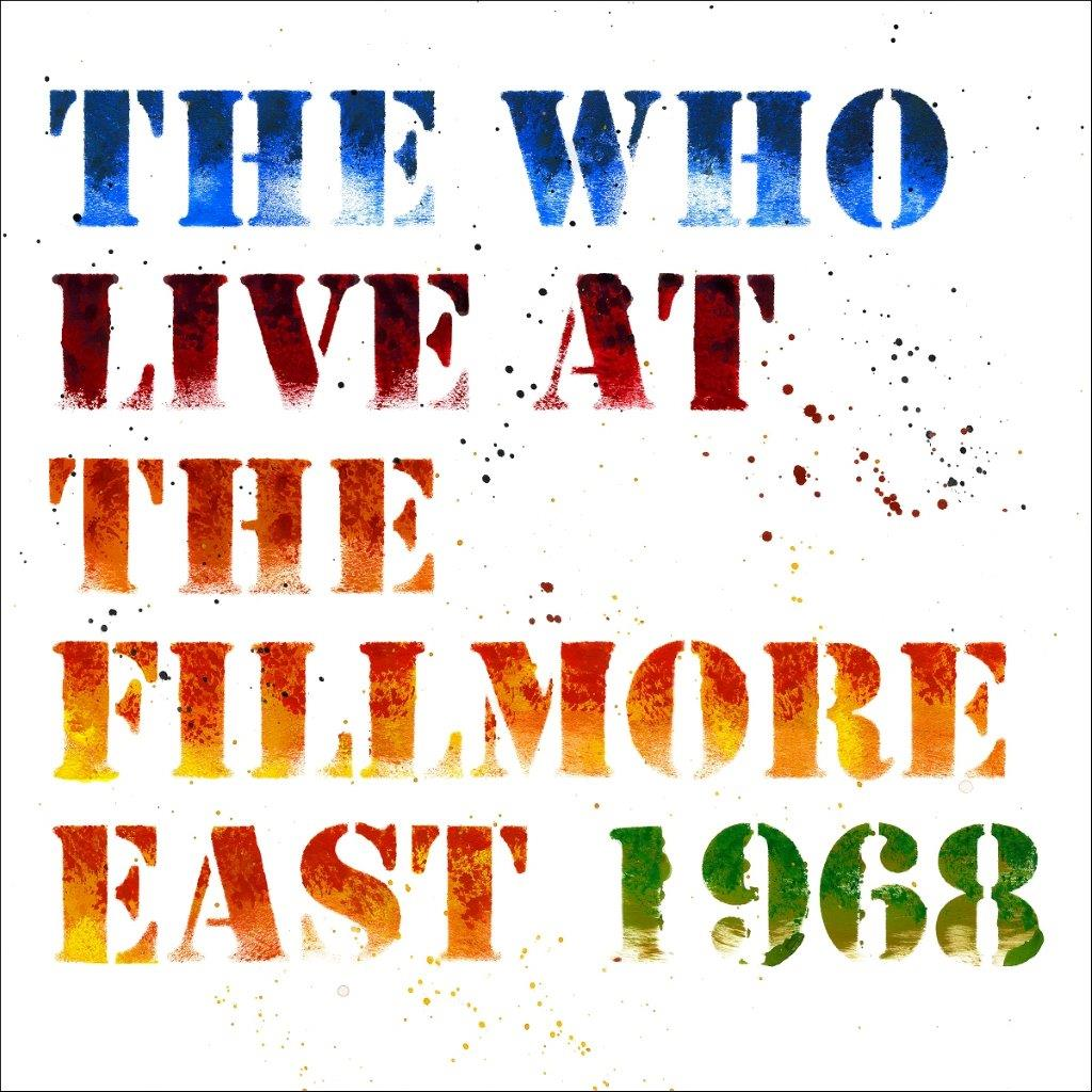 The Who Live At The Fillmore East Cover Art (Small)