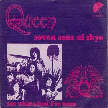 クイーンの全英チャート初登場曲「Seven Seas Of Rhye / 輝ける7つの海」