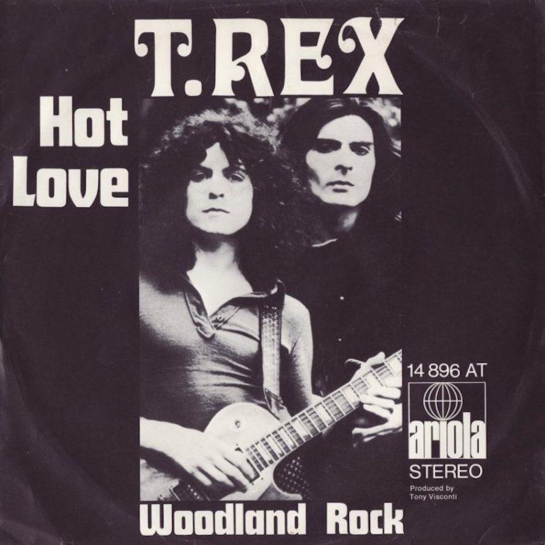 T.レックス初の全英1位獲得シングル「Hot Love」