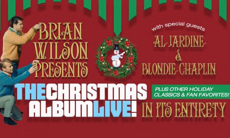 ブライアン・ウィルソンがホリデイ・ツアーにて『The Beach Boys' Christmas Album』を演奏