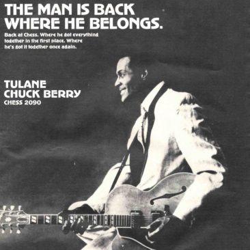 チャック・ベリーがチェス・レコードに復帰して放ったヒッピーの物語「Tulane」