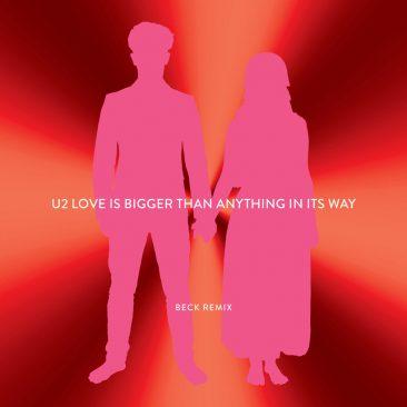 ベックによるU2「Love Is Bigger Than Anything in Its Way」リミックス公開
