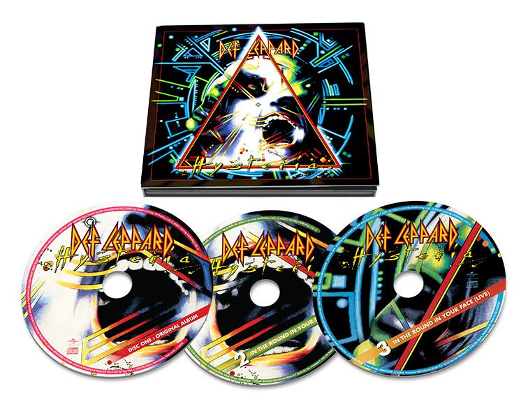 来日記念、デフ・レパード『Hysteria』30周年記念エディションの1CD&3CDが初国内盤化