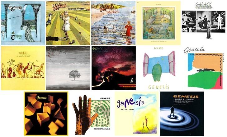 ジェネシスのスタジオ・アルバム14作品が180g重量盤LPにて発売決定