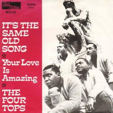 フォー・トップスが緊急発売した「It's The Same Old Song」とその理由