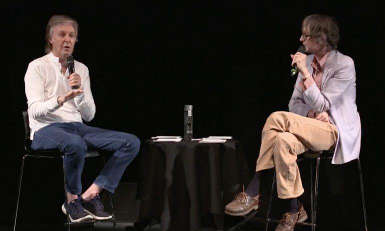 ポール・マッカートニーがジャーヴィス・コッカーと対談。ポールが一番尊敬しているミュージシャンとは?