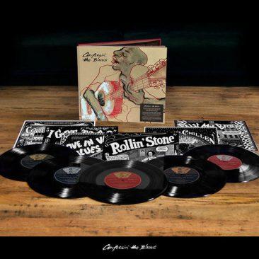 ストーンズ選曲によるブルースコンピ『Confessin' The Blues』が11月9日発売。ジャケットはロン・ウッドが担当