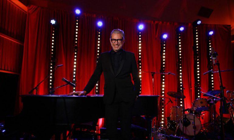 今年デビュー・アルバムを発売するジェフ・ゴールドブラムがロンドン・ジャズ・フェスティバルに出演