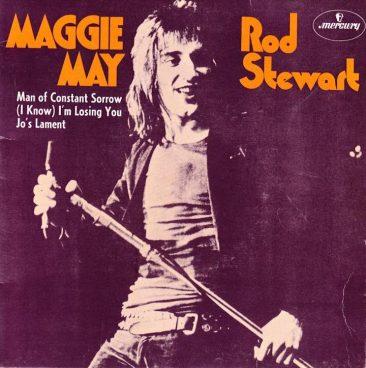 ロッド・スチュワート初の1位曲「Maggie May」は当初はB面だった