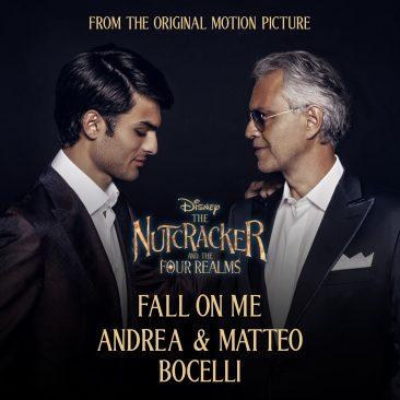 ディズニー映画『くるみ割り人形と秘密の王国』エンドソング、アンドレア・ボチェッリが歌う「Fall On Me」のMVが公開